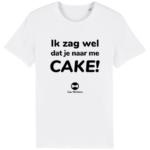 T-shirt - Wit (CAKE)