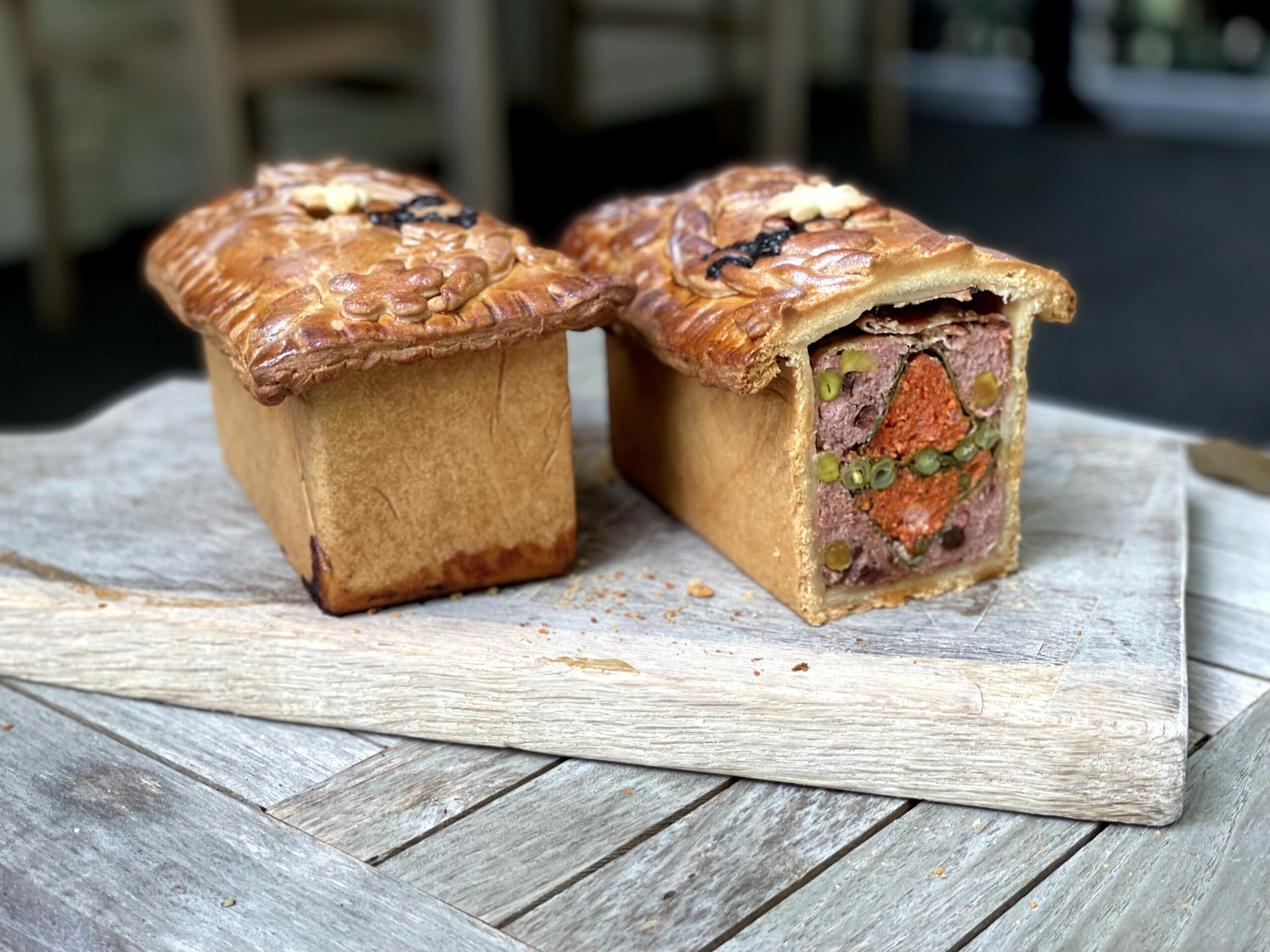 Pate on croute Cas